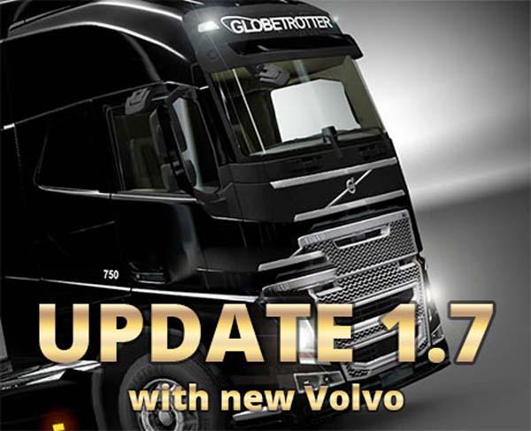 ETS 2 Update 1.7