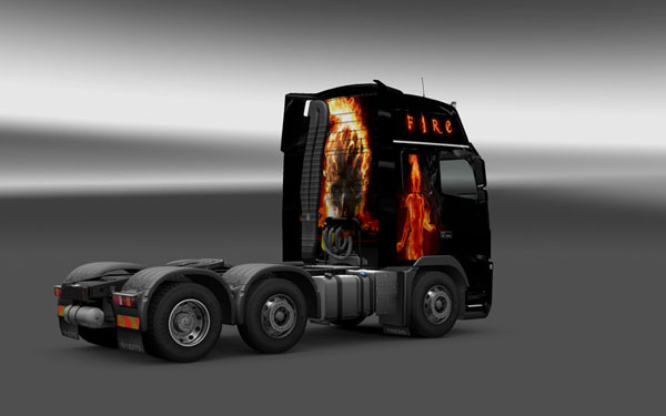 Fire Volvo