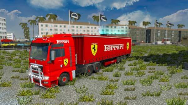 Ferrari Combo Pack and Interior
