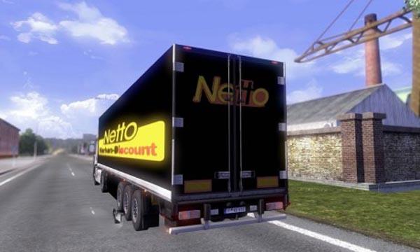 Netto trailer