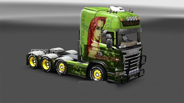 Poison ivy skin for Scania