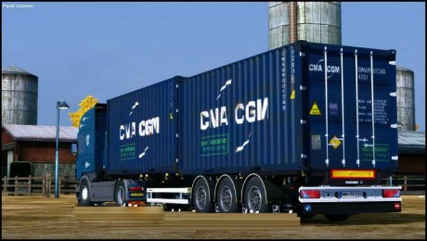 Sommer Container Trailer