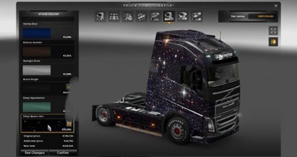 Deep Space skin for Volvo FH 2012 2