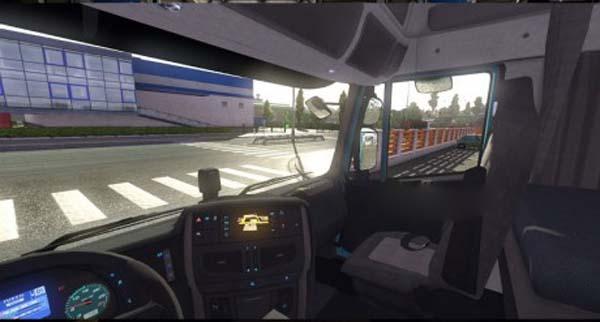 Iveco Hi-Way Dark interior + new dashboard lights