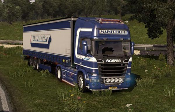 Mainfreight SKIN – Scania Streamline & Trailer
