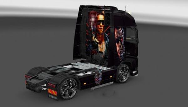Volvo FH 2012 Terminator Skin
