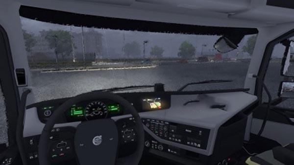 Volvo FH16 2012 Realistic Interior