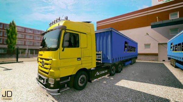 FIXEMER – Truck and Trailer