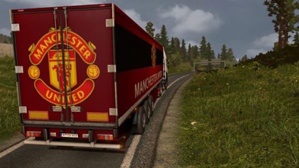 Manchester United Trailer Skin
