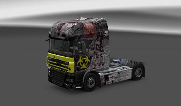 Biohzard skin for DAF
