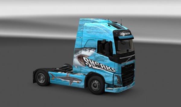 Shark skin for Volvo FH