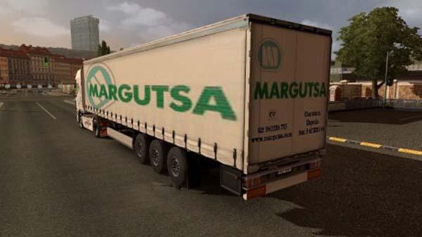 Margutsa trailer and DAF skin